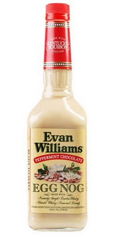 Evan Williams Peppermint Chocolate Egg Nog Liqueur